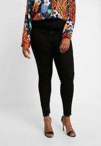 Dorothy Perkins Curve - Kalhoty - black - 0