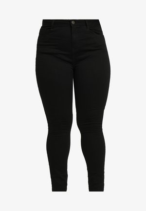 SHAPE AND LIFT - Jeansy Skinny Fit - black