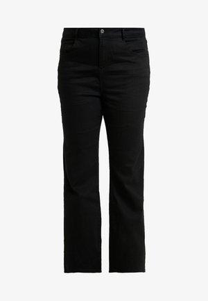 ELLIS - Jean bootcut - black