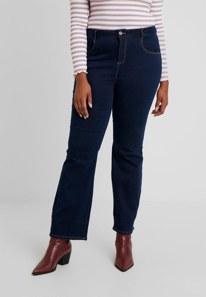 Dorothy Perkins Curve - ELLIS - Jeans bootcut - indigo