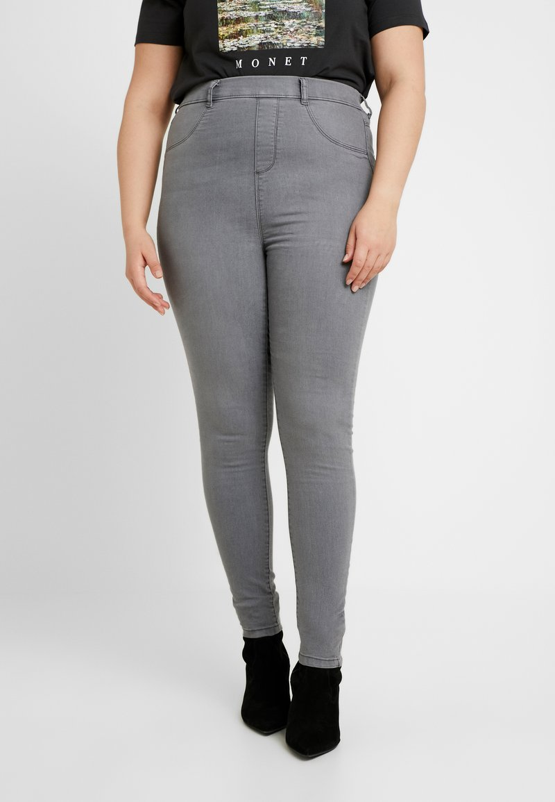 Dorothy Perkins Curve - CHARCOAL EDEN - Jeans Skinny Fit - charcoal