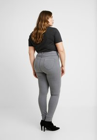Dorothy Perkins Curve - CHARCOAL EDEN - Jeans Skinny Fit - charcoal - 2