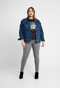 Dorothy Perkins Curve - CHARCOAL EDEN - Jeans Skinny Fit - charcoal - 1