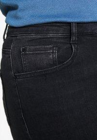 Dorothy Perkins Curve - WASHED ALEX - Jeans Skinny Fit - black - 5