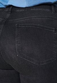 Dorothy Perkins Curve - WASHED ALEX - Jeans Skinny Fit - black - 3