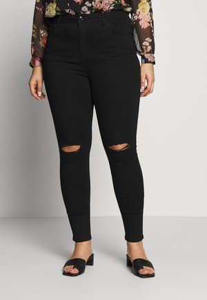 WASHED ALEX - Jeans Skinny Fit - black