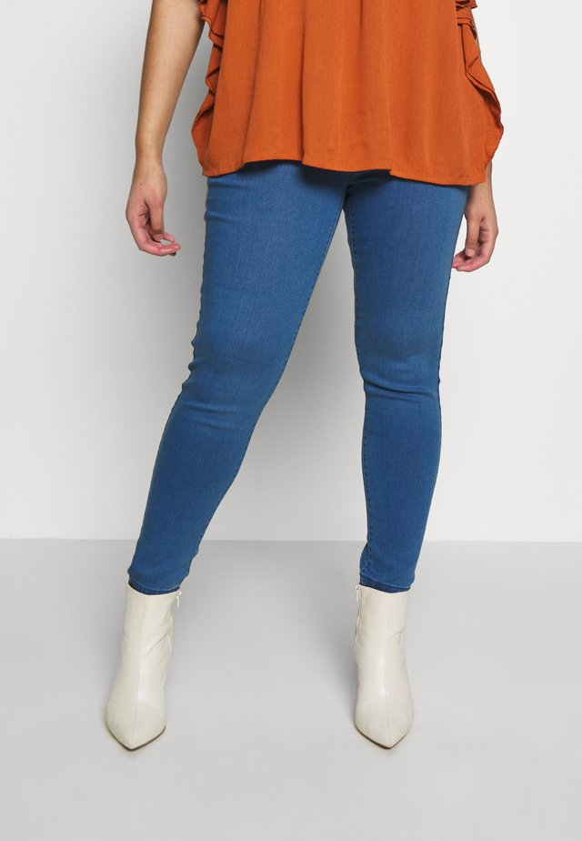 EDEN  - Jeggings - mid wash denim