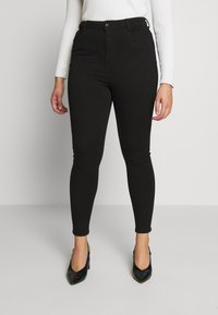 Dorothy Perkins Curve - SHAPE AND LIFT - Jeans Skinny Fit - black - 0