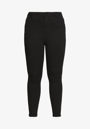 SHAPE AND LIFT - Pantalon classique - black