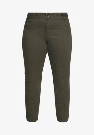 DARCY RAW EDGE JEAN - Jeans Skinny Fit - khaki