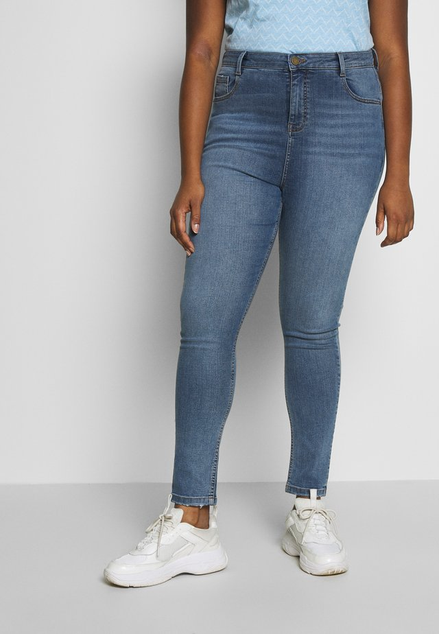 SHAPE AND LIFT - Jeans Skinny Fit - mid wash denim