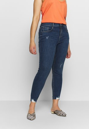 DARCY KNEE - Jeans Skinny - blue