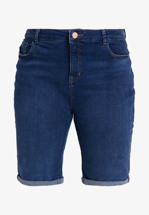 KNEE - Short en jean - indigo
