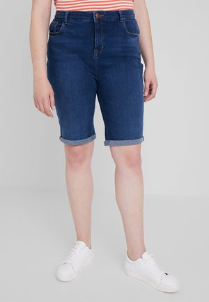 KNEE - Shorts vaqueros - indigo