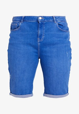 KNEE - Jeansshort - bright blue