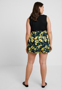 Dorothy Perkins Curve - TIE WAIST - Shorts - navy base - 2