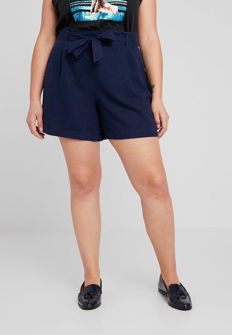 Dorothy Perkins Curve - Shorts - navy