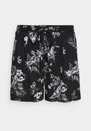 CURVE TROPI TIE WAIST  - Shorts - black