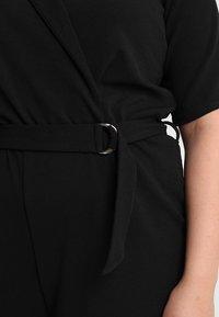 Dorothy Perkins Curve - MICHAELA CREPE TUX WRAP  - Overall / Jumpsuit /Buksedragter - black - 5