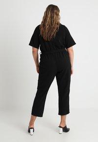Dorothy Perkins Curve - MICHAELA CREPE TUX WRAP  - Overall / Jumpsuit /Buksedragter - black - 2