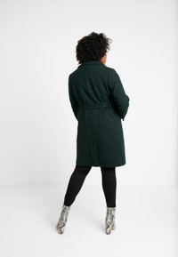 Dorothy Perkins Curve - PATCH POCKET WRAP - Kåpe / frakk - green - 2