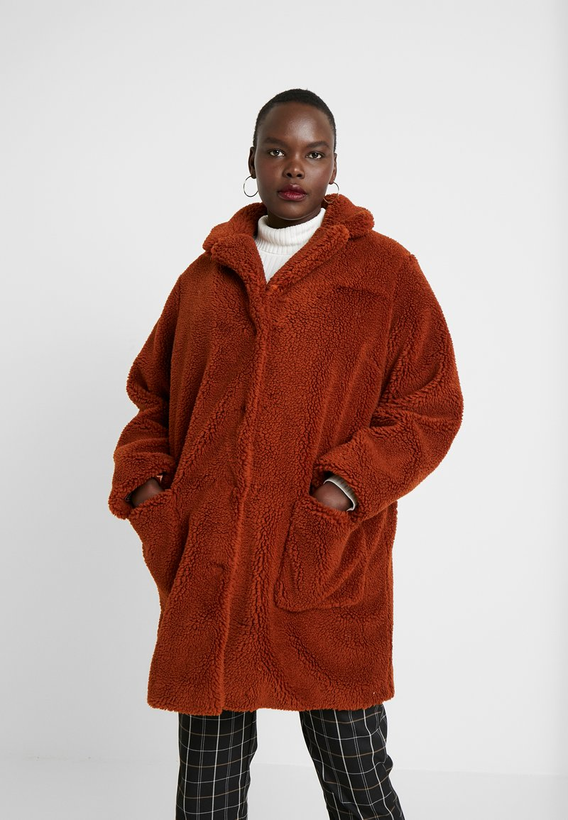 Dorothy Perkins Curve - Winter coat - ginger