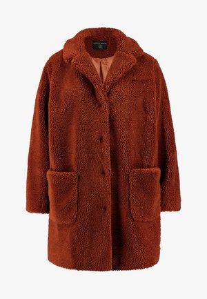 Zimní kabát - ginger