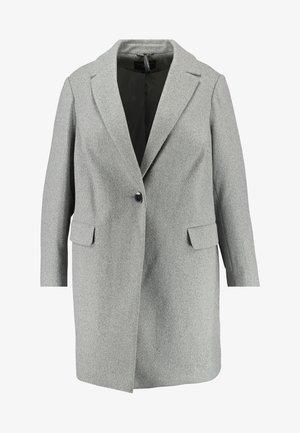 MINIMAL LINED - Pitkä takki - grey marl