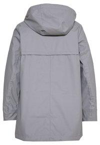 Dorothy Perkins Curve - CURVE SHORT RAINCOAT - Impermeable - light grey - 1