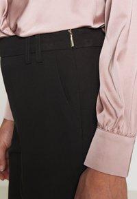 Dorothy Perkins Petite - HIGH WAISTED SLIM LEG TROUSER - Trousers - black - 5