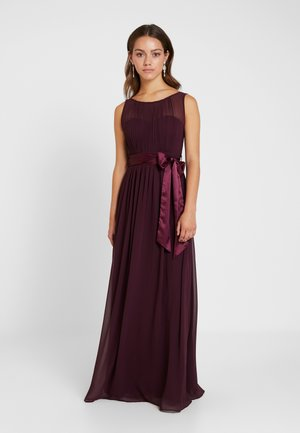 SHOWCASE NATALIE MAXI DRESS - Galajurk - oxblood