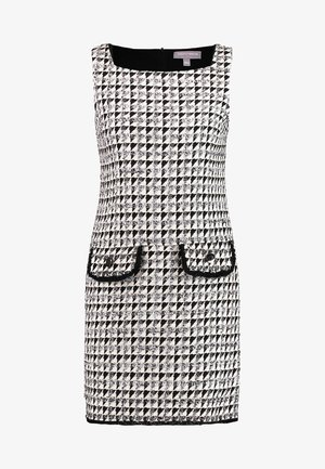BOUCLE SHIFT - Day dress - beige