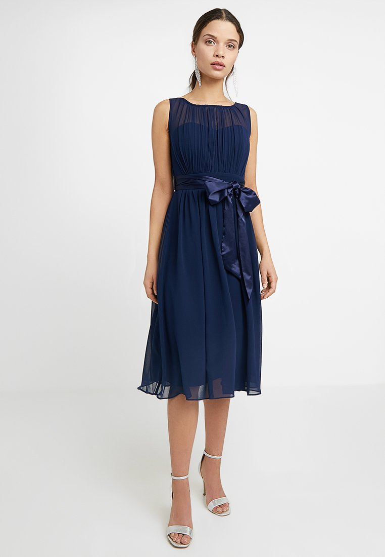 Dorothy Perkins Petite - BETHANYMIDI PROM DRESS - Cocktail dress / Party dress - navy
