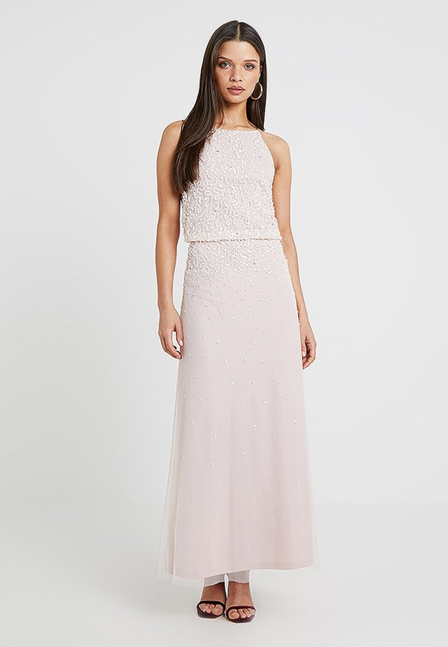 AVA POP OVER DRESS - Robe de cocktail - blush
