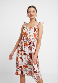 Dorothy Perkins Petite - SARASA CRINKLE CAMI DRESS - Abito a camicia - multi coloured - 0
