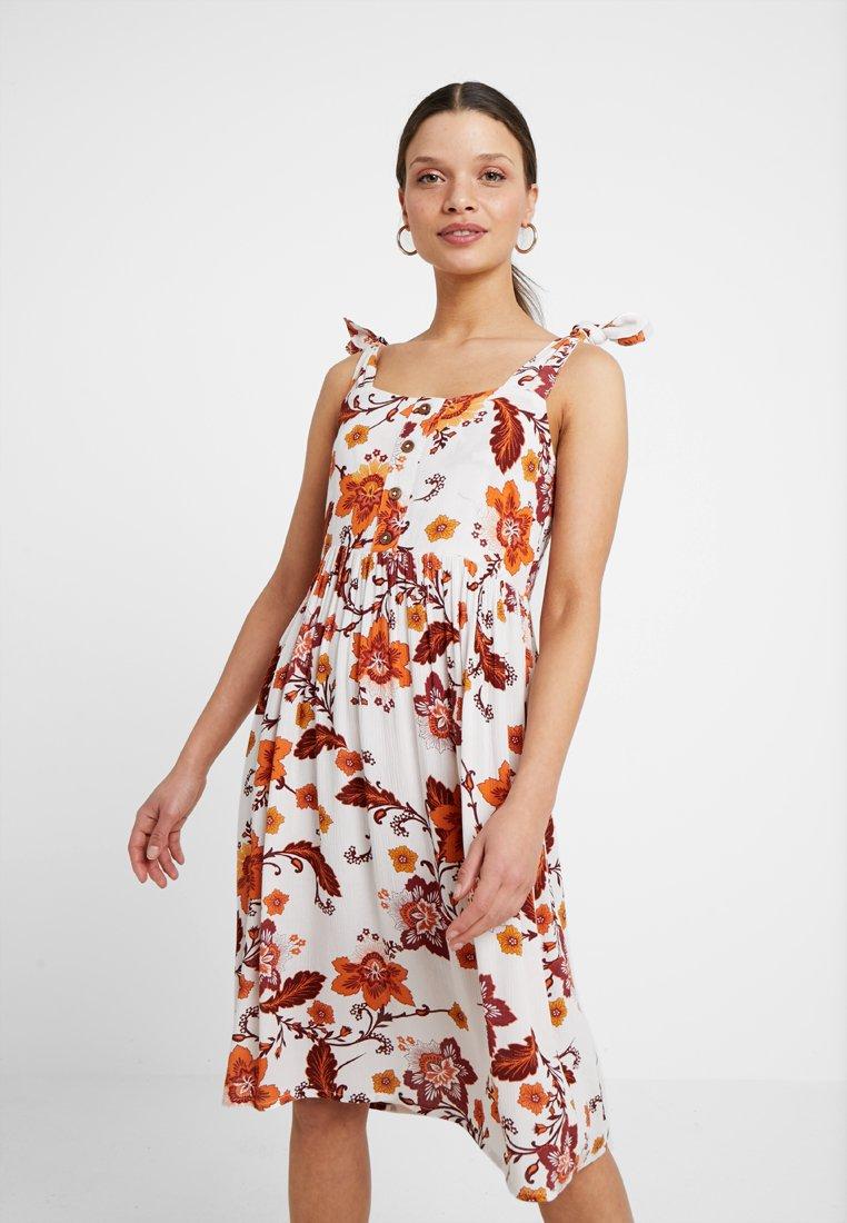 Dorothy Perkins Petite - SARASA CRINKLE CAMI DRESS - Skjortekjole - multi coloured