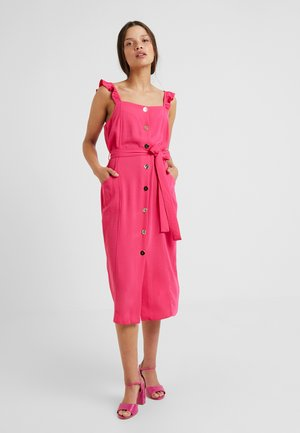 HOT DRESS - Vestido camisero - pink