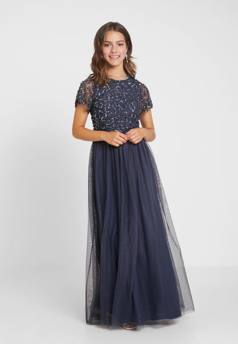 Dorothy Perkins Petite - TINA SLEEVED DRESS - Ballkleid - dark grey