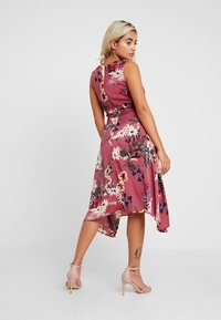 Dorothy Perkins Petite - FLORAL COWL NECK DRESS - Vardagsklänning - purple - 3