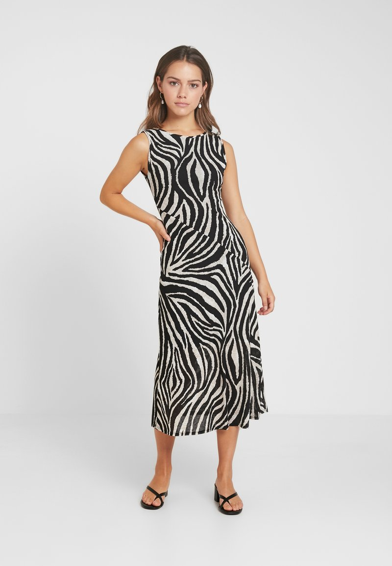 Dorothy Perkins Petite - ZEBRA DRESS - Jerseykleid - multi