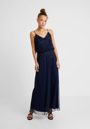 PIPPA LOU V NECK POP OVER MAXI DRESS - Robe de cocktail - navy