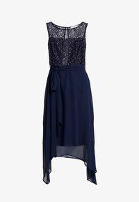 Dorothy Perkins Petite - SLEEVELESS MIDI DRESS - Cocktail dress / Party dress - dark blue - 5