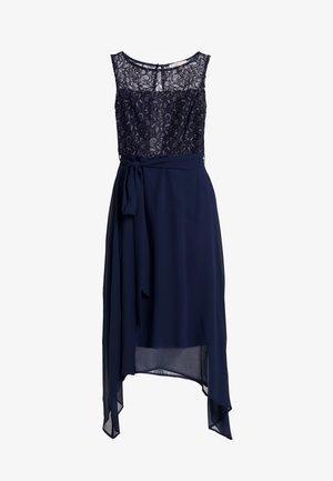 SLEEVELESS MIDI DRESS - Cocktailkleid/festliches Kleid - dark blue