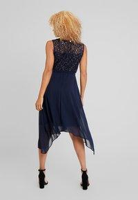 Dorothy Perkins Petite - SLEEVELESS MIDI DRESS - Cocktail dress / Party dress - dark blue - 2