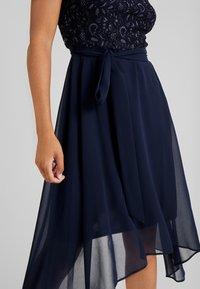 Dorothy Perkins Petite - SLEEVELESS MIDI DRESS - Cocktail dress / Party dress - dark blue - 4