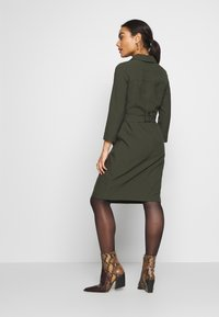 Dorothy Perkins Petite - SLEEVE TRENCH DRESS - Robe fourreau - khaki - 2