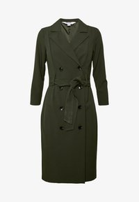 Dorothy Perkins Petite - SLEEVE TRENCH DRESS - Robe fourreau - khaki - 5