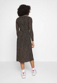Dorothy Perkins Petite - PETITES SPOT THICK AND THIN DRESS - Kjole - black - 2