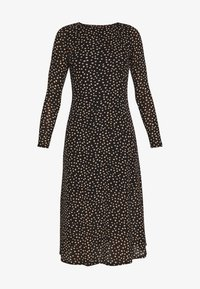 Dorothy Perkins Petite - PETITES SPOT THICK AND THIN DRESS - Kjole - black - 3
