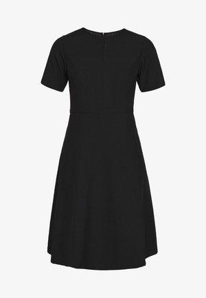 KEYHOLE - Day dress - black